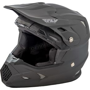 Fly Racing Matte Black Toxin Helmet - 73-8521S