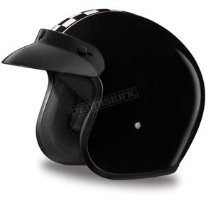 Daytona Cafe Racer 3/4 Cruiser Helmet - DC6-CR-XL
