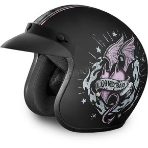 Daytona Gone Bad 3/4 Cruiser Helmet - DC6-GB-L