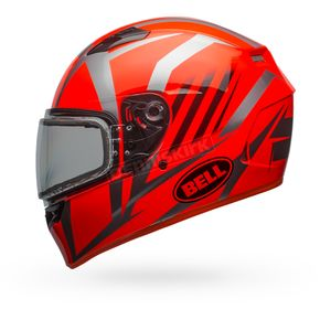 Bell Helmets Orange/Titanium Qualifier Blaze Snow Helmet w/Dual Lens Shield - 7090699