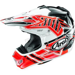 Arai Helmets Red VX-Pro4 Shooting Star Helmet - 806925