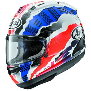 Arai Helmets Red/White/Blue Corsair-X Doohan Star-2 Helmet - 807174