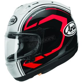 Arai Helmets Black/Red Corsair-X Statement Helmet - 807253