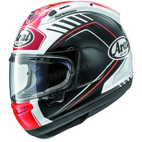 Arai Helmets Black/Red Corsair-X Rea Helmet - 807272