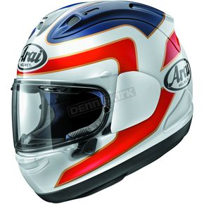 Arai Helmets White/Red/Blue Corsair-X Spencer 30th Anniversary Helmet - 807544