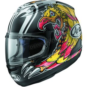 Arai Helmets Black/Yellow/Red Corsair-X Nakasuga Helmet - 807550