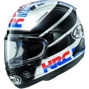 Arai Helmets Black/Red/White Corsair-X HRC Helmet - 807583