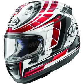 Arai Helmets Red Corsair-X Planet Helmet - 807640