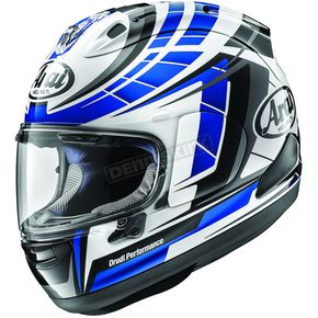 Arai Helmets Blue Corsair-X Planet Helmet - 807655