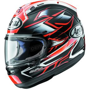 Arai Helmets Red Corsair-X Ghost Helmet - 820212