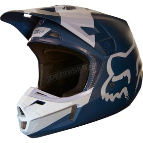 Fox Navy V2 Mastar Helmet - 19529-007-XL