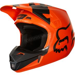 Fox Orange V2 Mastar Helmet - 19529-009-2X