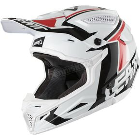 Leatt White/Black GPX 4.5 V20 Helmet - 1018200190