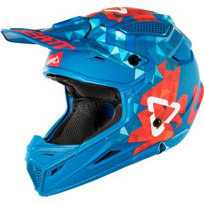 Leatt Blue/Red GPX 4.5 V22 Helmet - 1018200222