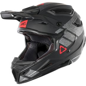 Leatt Black/Brushed GPX 4.5 V24 Helmet - 1018200234