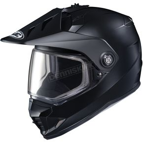 HJC Matte Black DS-X1 Snow Helmet w/Frameless Dual Lens Shield - 511-611