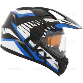 CKX Blue Quest RSV Rocket Snow Helmet - 508504#