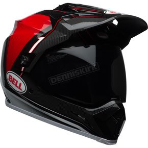 Bell Helmets Black/Red/White MX-9 Adventure MIPS Berm Helmet - 7092687