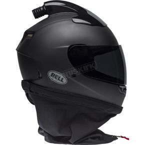 Matte Black Qualifier Forced Air Helmet - 7095756