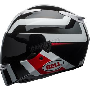 Bell Helmets White/Black/Red RS-2 Empire Helmet - 7092265