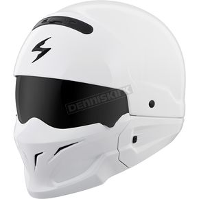 Gloss White Covert Helmet