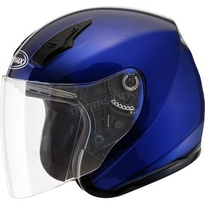 Blue OF17 Open Face Helmet