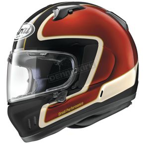 Red/Black/White Defiant-X Outline Helmet
