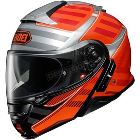 Red/Gray/Black Neotec II Splicer TC-8 Modular Helmet