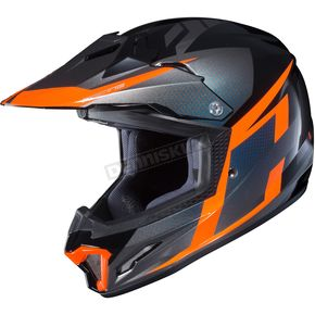 Youth Hi-Vis Orange/Gray/Black CL-XY II Argos MC-6H Helmet