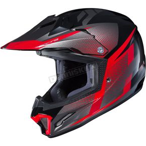 Youth Red/Black/Gray CL-XY II Argos MC-1 Helmet