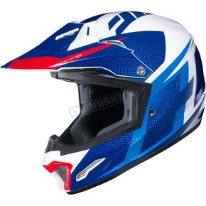 Youth Blue/White/Red CL-XY II Argos MC-2 Helmet