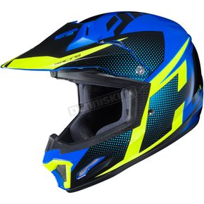 Youth Blue/Green/Black CL-XY II Argos MC-23 Helmet
