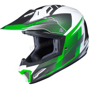 Youth White/Green/Gray CL-XY II Argos MC-4 Helmet