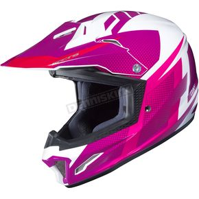 Youth Pink/White CL-XY II Argos MC-8 Helmet