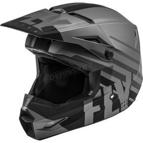 Matte Dark Gray/Black Kinetic Thrive Helmet