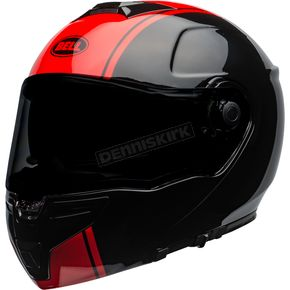 Black/Red SRT Ribbon Modular Helmet - 7110050