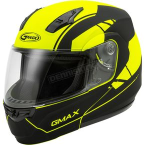 Matte Hi-Vis/Black MD04 Article Modular Street Helmet