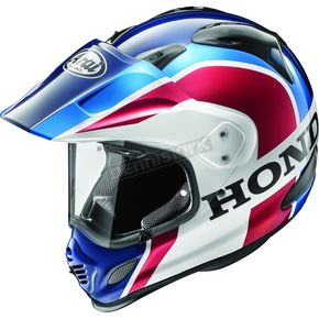 Red/White/Blue XD4 Africa Twin Helmet