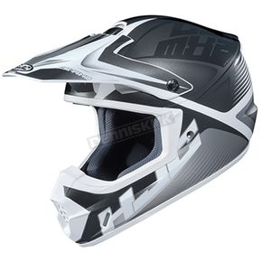 Black/Gray/White CS-MX 2 Ellusion MC-10 Helmet