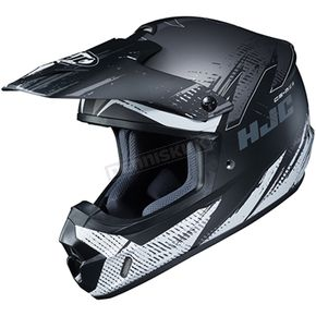 Semi-Flat Gray/Black/White CS-MX 2 Krypt MC-5SF Helmet