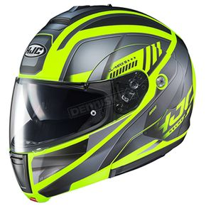 Semi-Flat Gray/Black/Hi-Viz CL-Max 3 Gallant MC-3HSF Helmet