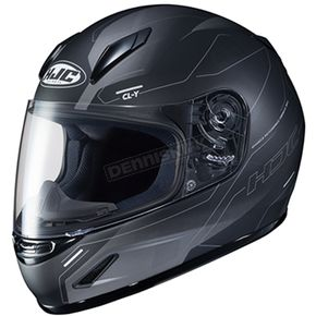 Youth Semi-Flat Gray/Black CL-Y Taze MC-5SF Helmet - 242-754