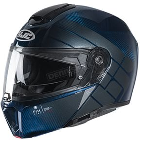 Carbon/Blue RPHA-90S Balian MC-2 Carbon Helmet