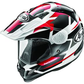 Metallic Red/Black/White XD4 Depart Helmet