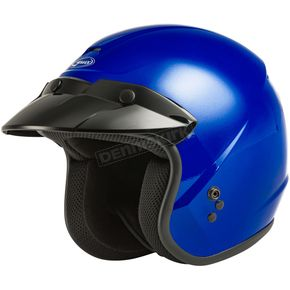 Youth Blue OF-2 Open Face Helmet