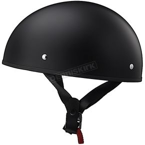 Matte Black Stripper Helmet