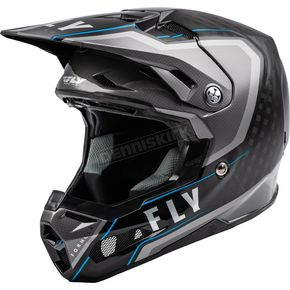 Black/Gray/Blue Formula Carbon Axon Helmet
