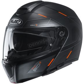 Semi-Flat Black/Orange RPHA-90S Bekavo MC-6HSF Helmet