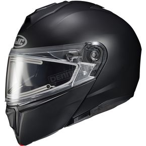 Semi-Flat Black i90 Modular Snow Helmet w/Electric Shield - 0613-634