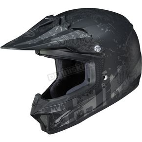Youth Semi-Flat Black/Charcoal CL-XY II Creeper MC5SF Helmet